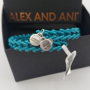 NWT Alex and Ani Gypsy 66 Wrap Turquoise